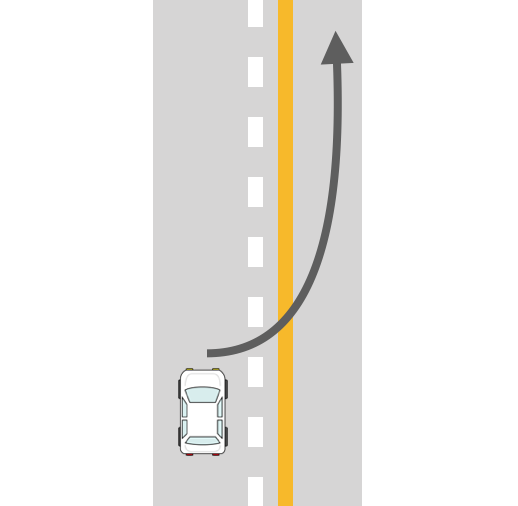 通行 帯 車両